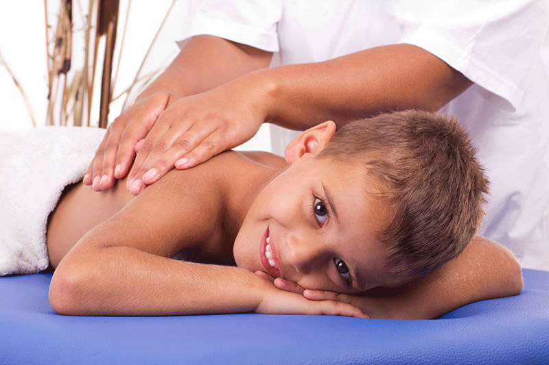 Kinder/Jugend Massage
